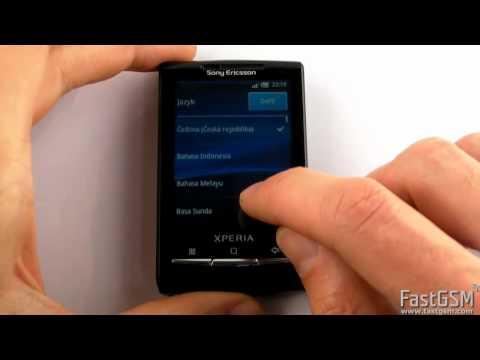 Debrand & Software Update Sony Ericsson Xperia X10 mini & mini pro
