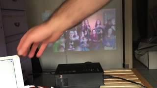 Download Mini Vidéoprojecteur Multimédia Portable Wifi Sans fil LED LCD Projecteur Commentaire, Pour une cent 3Gp Mp4