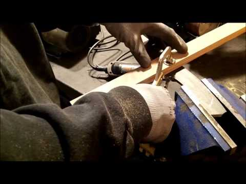 Knife Making Tutorial- How to Make A Bowie Knife