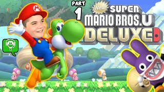 New Super Mario Bros U Deluxe with HobbyFamilyGaming