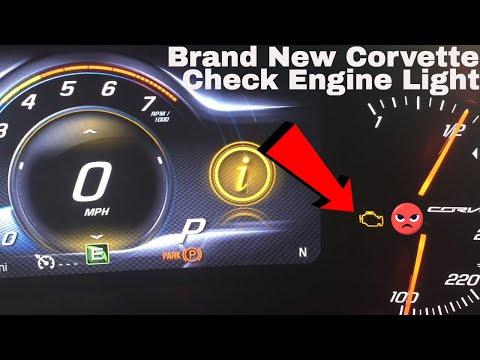 Check Engine Light In My Chevy Corvette C7 Grandsport