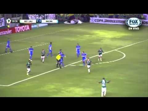 Libertadores: La Academia peleó un partido perdido y lo terminó empatando 2-2 en Colombia