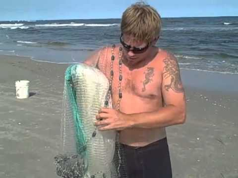 HOW TO THROW A 14ft MULLET CAST NET!