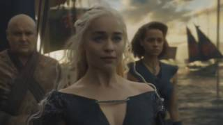 Game of Thrones: The Winds of Winter, final scene [increase music]