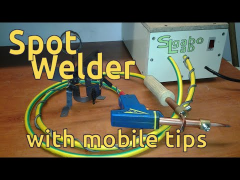 Homemade Spot Welder 667Amper - build from microwave transformer