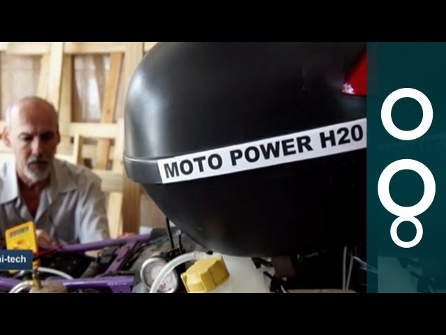 """Moto Power H2O"" - Water-Powered Motorbike From Brazil"