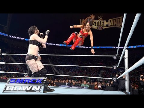 Paige vs. Brie Bella: SmackDown, March 19, 2015