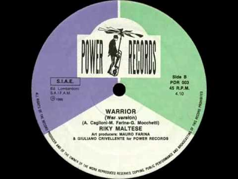 RIKY MALTESE - WARRIOR (NICE VERSION) (℗1986)