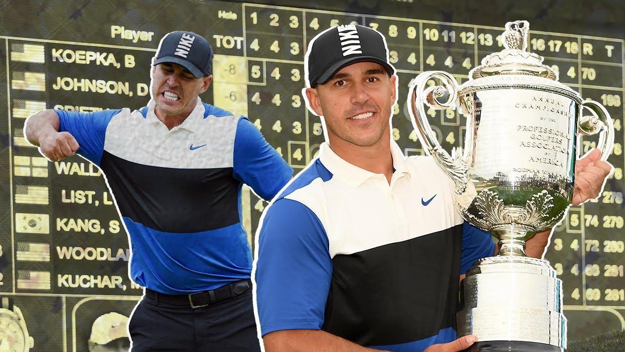 Brooks Koepka squeks out second straight PGA Championship