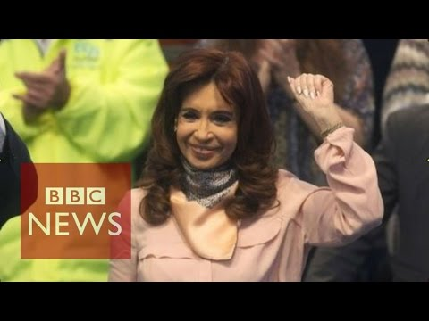 Argentina's dancing president becomes internet hit - BBC News