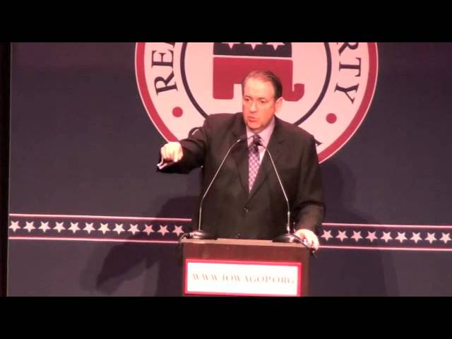 Mike Huckabee Compares Abortion to Holocaust