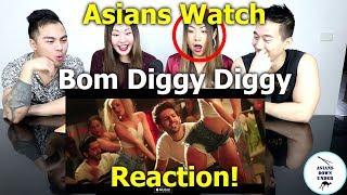 Bom Diggy Diggy (VIDEO) | Zack Knight | Reaction - Australian Asians