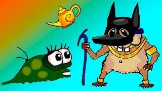УЛИТКА БОБ - Улитка Боб в ЕГИПТЕ - #15 - Мультик ИГРА для детей #ПУРУМЧАТА