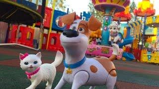 Тайная жизнь домашних животных Макс Парк Видео для Детей The secret life of Pets Max