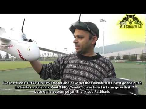 FPV Raptor Testing FatShark Predator 2 FPV Combo