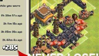 "Clash of Clans - ""NEW"" BEST Town Hall 8 (TH8) Trolling Base With Air Sweeper"