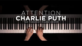 Download Lagu Charlie Puth - Attention | The Theorist Piano Cover Gratis STAFABAND