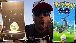 ESTAMOS EN RACHA! NUEVO SHINY DE HUEVO ALOLA MÁS RAYQUAZA SHINY! [Pokémon GO-davidpetit]