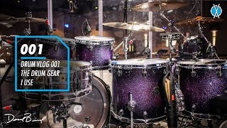 Drum Vlog 001 // The Drum Gear I Use! // Daniel Bernard