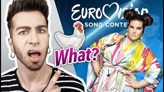 "EUROVISION 2018: ISRAEL Netta ""Toy"" (REACTION) 