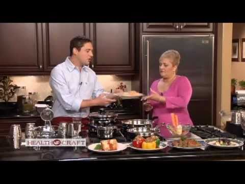 Waterless Cooking Demonstration Health Craft Waterless Cookware Made in USA