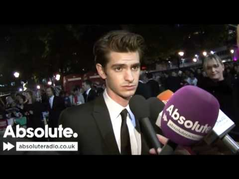 Andrew Garfield interview at Never Let Me Go premiere