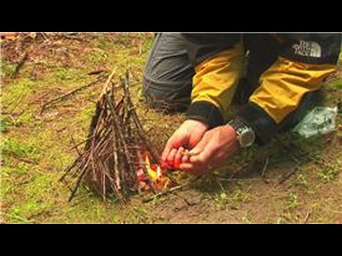How To Build An Outdoor Fire