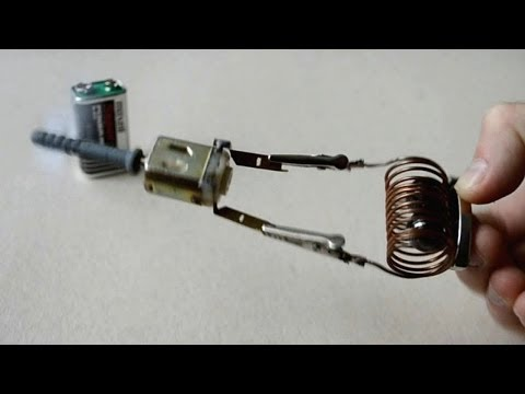 Тройной Турбинный мини мотор Triple Turbine Prototype Motor на tubethe.com