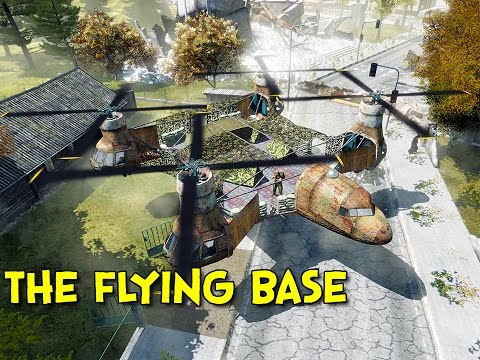 THE FLYING BASE! - Arma 2: DayZ Mod - Ep.49