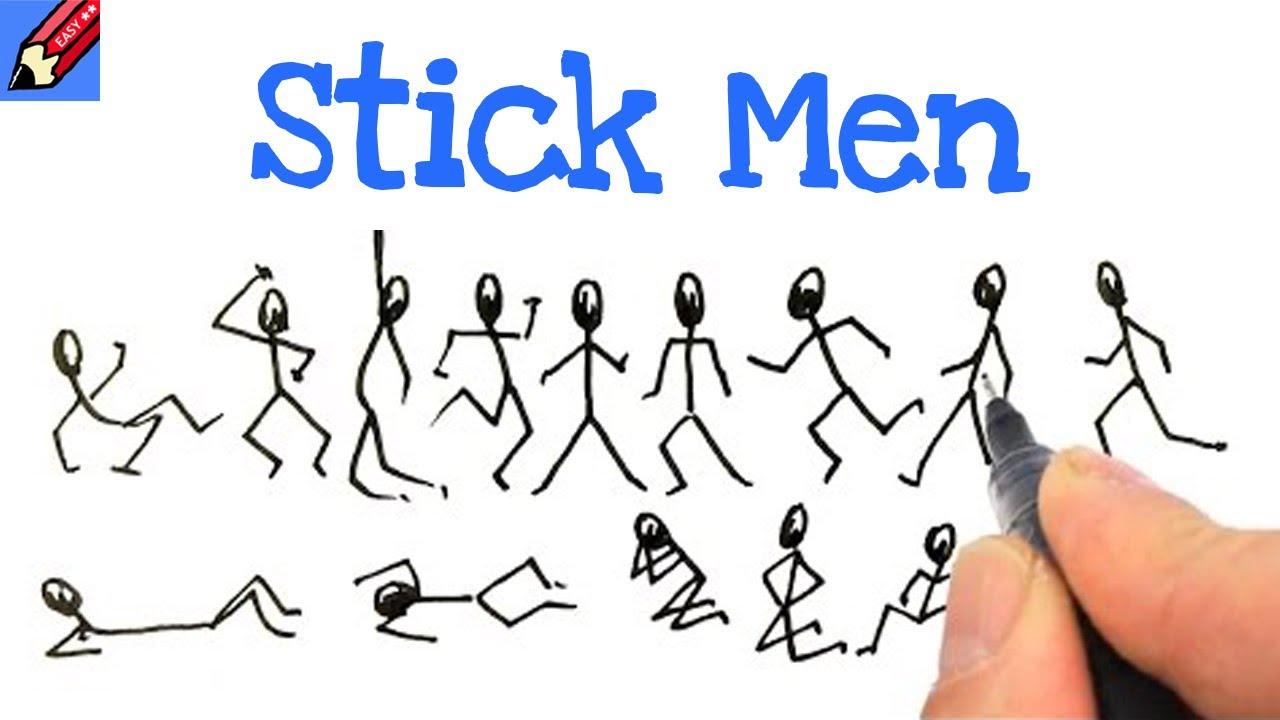 Funny stick figure movie