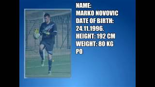 MARKO NOVOVIC - HIGHLIGHTS