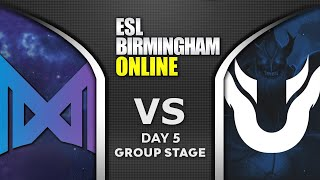 NIGMA vs UNIQUE - EU vs CIS - ESL One Birmingham 2020 Highlights Dota 2