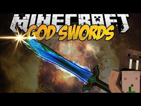 Minecraft mody BRONIE BOGÓW NOWE MOCE UMIEJĘTNOŚCI I WIĘCEJ GOD SWORDS