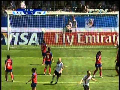 Mundial fem. U-20 2010 - Res. Alemania vs Costa Rica 2/2