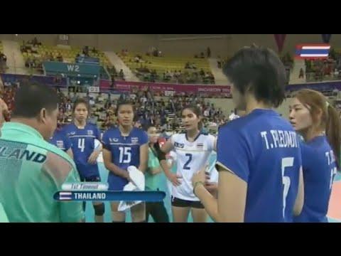 Asian Games 2014 Women Volleyball Thailand VS Korea : Sep 23rd, 2014 : Full Match