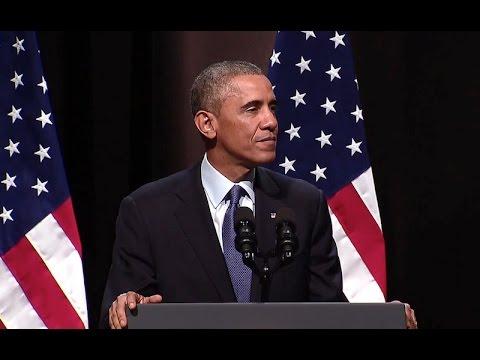 President Obama Delivers Remarks at Northwestern University