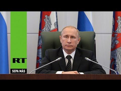 Putin: En 2014 aumentó la actividad de espionaje extranjero en Rusia