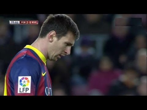 Barcelona  vs Real Sociedad (2-0) All Goals & Highlights 05.02.2014