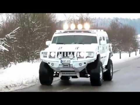 Hummer H2 Minotaurus Supercharger Youtube