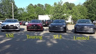 2019 Avalon (Part 1) Comparing all models - how to pick your trim level