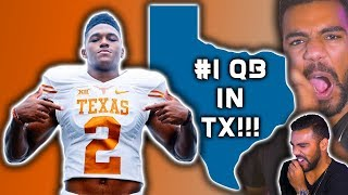 The *BEST* Quarterback In TEXAS!!! Roschon Johnson Highlights [Reaction]
