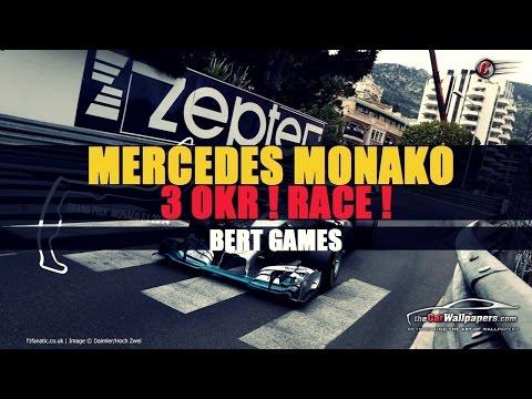 F1 2014 - Grand Prix Monako - Nico Rosberg - Awaria Hamiltona i błąd Alonso !