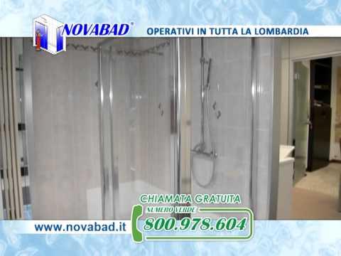 Novabad – Trasformazione vasca in doccia Milano – Cambio vasca con doccia Milano