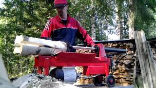 klapikone 8 ton. log splitter