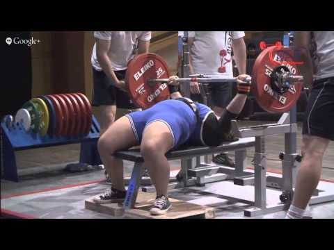 2015 IPF World Bench Press Championships - Sub-Junior Women all