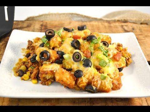 Mexican Tater Tot Casserole Recipe Video | RadaCutlery.com thumbnail
