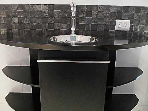 Lavabo moderno youtube for Muebles para lavamanos