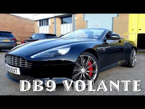My First Supercar: Aston Martin DB9 Review