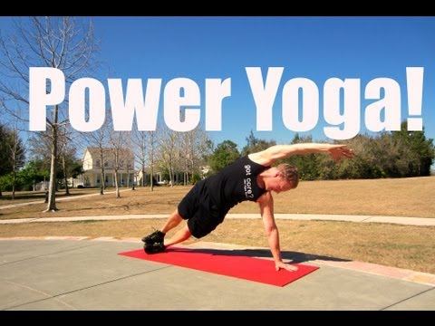 15 min Power Yoga Workout with Sean Vigue - Weight Loss Yoga Image 1