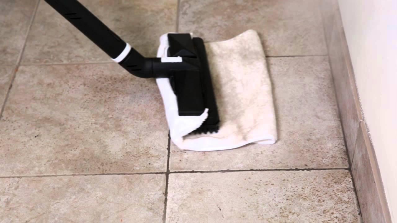 Fliesen reinigen mit dampfreiniger